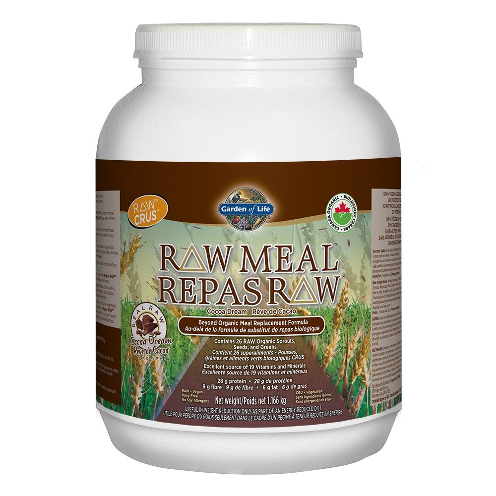 Garden Of Life RAW Meal: New Meal Replacement Has Same Nutritional Value As Eating A Raw Meal