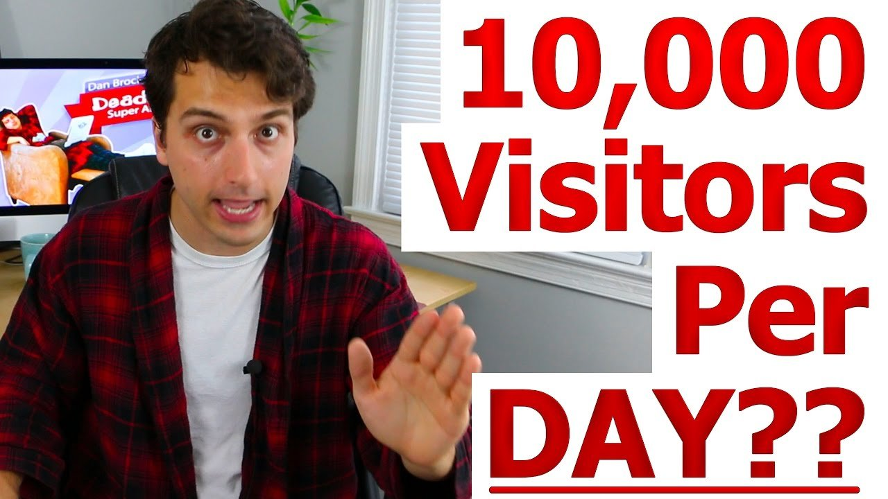 How To Grow A New Website To Over 150,000 Organic Visits Per Month | Grow Website Traffic