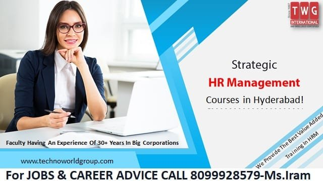 Human Resource Management Training, HR Certification Course In Hyderabad, HR Management Course In Hyderabad