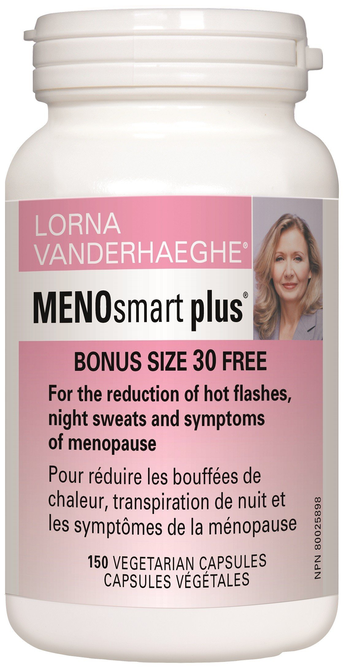 Lorna VanderhaegheMENOsmart Plus Can Relieve Your Menopause Symptoms