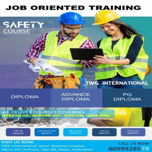 Industrial Safety Training, Industrial Safety Management, Fire And Safety, Environmental Safety.
