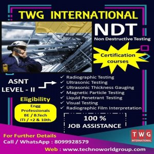 NDT Training Institute In Hyderabad | NDT Course In Hyderabad | NDT Courses
